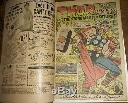 Journey into Mystery #83 1st Thor 1962 signed Jack Kirby