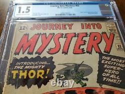 Journey into Mystery #83 CGC 1.5! MAJOR KEY ISSUE! 1st Thor COMPLETE