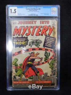 Journey into Mystery #83 Jack Kirby Cover Origin/1st App Thor