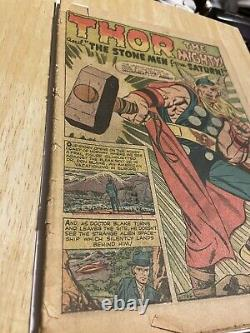 Journey into Mystery #83 coverless, FR/G 1st Thor Marvel 1962 Grail See Pics
