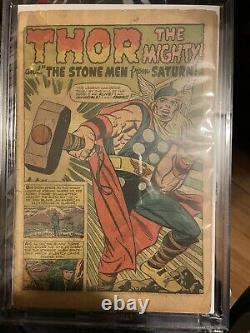 Journey into Mystery #83 coverless, FR/G 1st app. Thor Marvel 1962 Grail