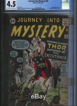 Journey into Mystery # 84 CGC 4.5 Cream to Off White Pages. UnRestored