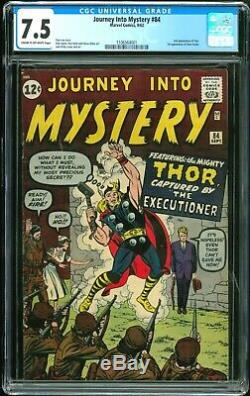 Journey into Mystery 84 CGC 7.5 (First Appearance of Jane Foster)