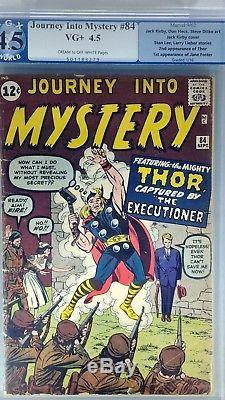 Journey into Mystery #84 PGX 4.5 2nd App Thor/1st App Jane Foster