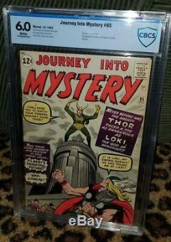 Journey into Mystery 85 1st Loki CBCS 6.0 White Pages! Not cgc