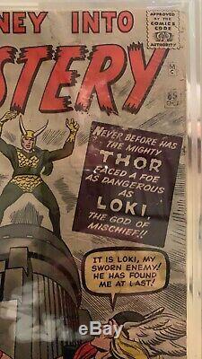 Journey into Mystery 85- CBCS 2.0- 1st App Loki, Odin, Asgard- Oct 1962