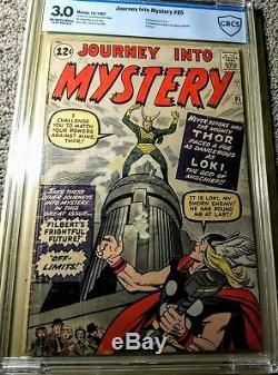 Journey into Mystery #85 CBCS 3.0 OW-W 1st Loki, Odin, & Asgard, Marvel-Thor