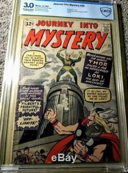 Journey into Mystery #85 CBCS 3.0 OW-W 1st Loki, Odin, & Asgard, (Thor)