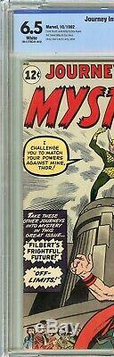Journey into Mystery #85 CBCS 6.5 THOR 1st app of LOKI Jack Kirby Cover Not CGC