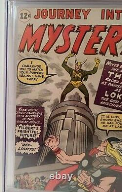 Journey into Mystery 85 CGC 4.0 1st Appearance of Loki, 3rd Appearance of Thor