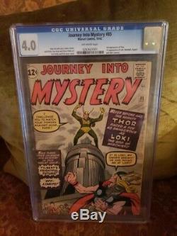 Journey into Mystery #85 CGC 4.0 Marvel 1st Loki Heimdall & Odin