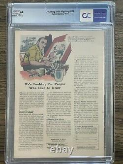 Journey into Mystery 85 CGC 4.0 WHITE PAGES Not Pressed 1st Loki Appearance
