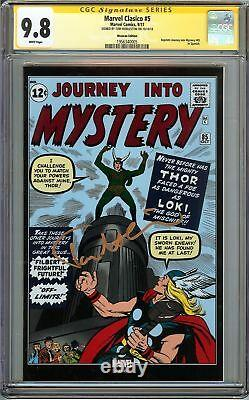 Journey into Mystery #85 CGC 9.8 SIGNED TOM HIDDLESTON THOR Mexican Ed 1st LOKI