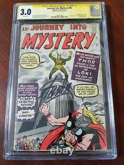 Journey into Mystery #85 CGC SS 3.0 WHITE Pages Stan Lee 1st Loki 3rd Thor KEY