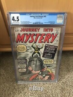 Journey into Mystery #85 CgC 4.5 1st app. Of Loki Taking Offers