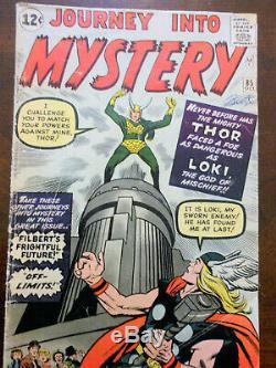 Journey into Mystery 85, GD-VG (3.0), Origin of Loki