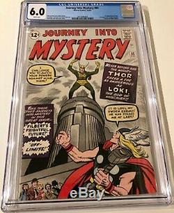 Journey into Mystery #85, KEY! 1st Loki, CGC 6.0 with WHITE pages