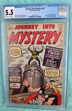 Journey into Mystery 85 cgc 5.5