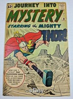 Journey into Mystery #86 1962 5.0 VG/FN Silver Age 4th Thor 1st Odin Key Issue