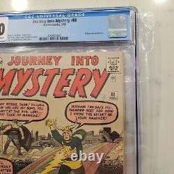 Journey into Mystery #88 CGC 4.0 2nd Appearance Loki Thor Disney+ MCU