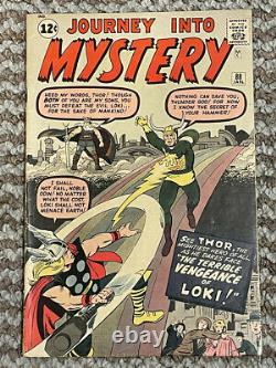 Journey into Mystery 88 VG/VG+ Early THOR and 2nd Loki appearance