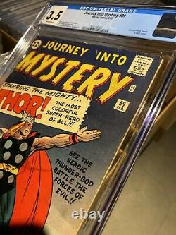 Journey into Mystery #89 CGC 3.5 - 1963 - Key Thor Hammer cover #2027745021