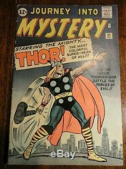 Journey into Mystery #89 Classic Kirby Cover Key VGF Thor Stan Lee 1st Pr Marvel