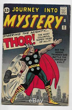 Journey into Mystery #89 Marvel Comics 1963 Stan Lee, Jack Kirby, Steve Ditko