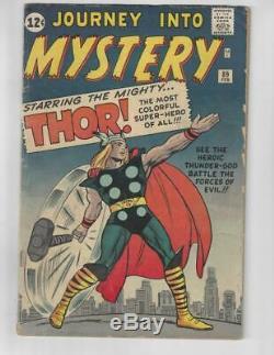 Journey into Mystery #89/Silver Age Comic Book/Origin & Classic Cover/VG
