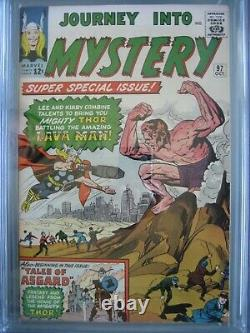 Journey into Mystery #97 CGC 8.0 Marvel Comics 1963 1st app Surtur & Ymir