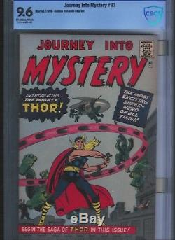 Journey into Mystery (GRR) # 83 CGC 9.6 Off White Pages. UnRestored