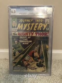 Journey into mystery 102 cgc 6.0 white pages