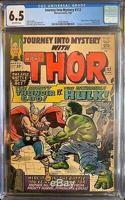 Journey into mystery 112 cgc Kirby Thor Hulk