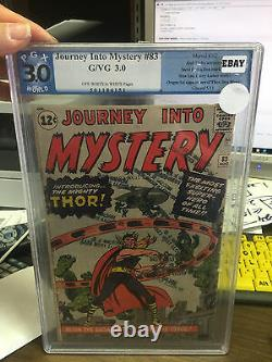 Journey into mystery #83 3.0 Graded thor 1st appearance