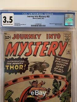 Journey into mystery 83 cgc