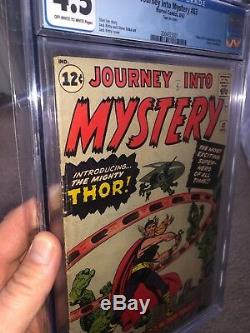 Journey into mystery 83 cgc 4.5