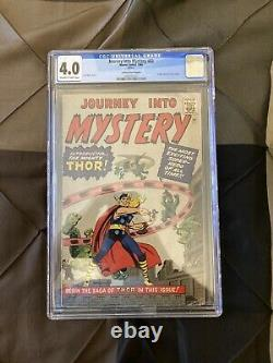 Journey into mystery 83 golden record reprint