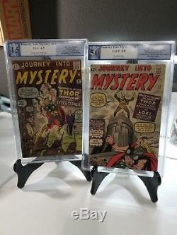 Journey into mystery 84 & 85.2 MAJOR KEY LOT. 4.5 & 5.0 1st app of Loki 2nd Thor