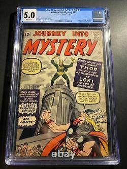 Journey into mystery 85 CGC 5.0