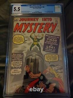Journey into mystery 85 cgc 5.5 first loki