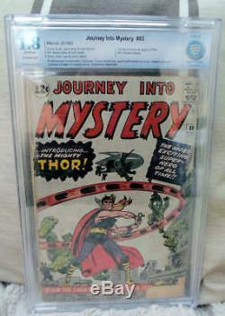 Marvel Comics CBCS cgc 1.8 THOR #83 1ST appearance JOURNEY INTO MYSTERY CGC