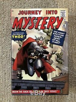 Marvel Mighty Thor Omnibus Vol. 1 Journey Into Mystery