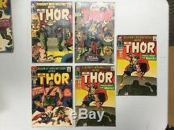 Marvel Silver Age JOURNEY INTO MYSTERY x17 Low-Mid Grade Comic Lot PR- VG+