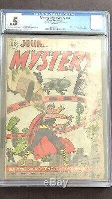 Marvel's Journey Into Mystery #83 Cgc. 5 1st App Of Thor! 8/1962 Holy Grail Key