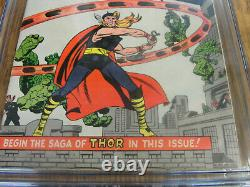 Rare Journey Into Mystery #83 First Thor Comic Book 1962 6.0 Grade White Pages
