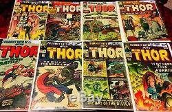 Silver-Age Early Thor Journey into Mystery, 1960-1965 28-Issues Lot