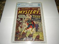 Silver Age Marvel Comic Journey Into Mystery #84 CBCS 6.0 2nd Thor