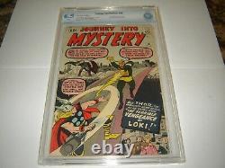 Silver Age Marvel Comic Journey Into Mystery #88 CGC 6.5 W rare 2nd Loki