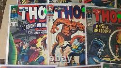 Silver Comic lot THOR journey into mystery 116 117 119 120 121 123 125 127 more