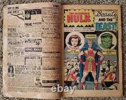 The Incredible Hulk #5 & Journey into Mystery #87 Stan Lee & Jack Kirby